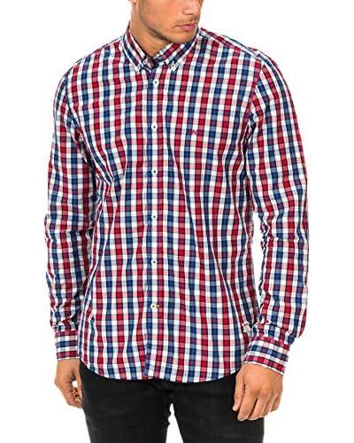 Mc Gregor Camisa Hombre Blanco / Azul / Rojo