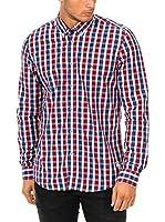 Mc Gregor Camisa Hombre (Blanco / Azul / Rojo)