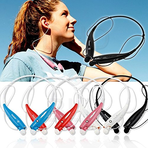 Bengoo Bluetooth Wireless Stereo Sports Running Headset Earphone Headphone Neckband Style For Iphone 6 Iphone 6 Plus 5S 5C 5 4S, Galaxy Note 4 3 2 S5 S4 S3, Ipod Touch 7 6 5 Ipad 4 Mini Air And Lg Other Smart Cellphones Tablet Pc-Black