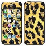 """atFoliX Designfolie """"Golden Jaguar"""" f�r Apple iPhone 5 - ohne Displayschutzfolievon """"Designfolien@FoliX"""""""