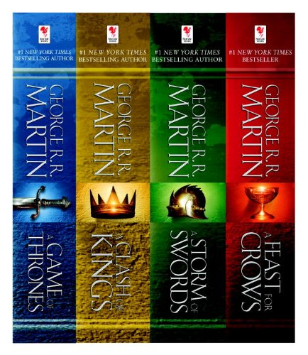 George R. R. Martin - George R. R. Martin's A Game of Thrones 4-Book Bundle: A Song of Ice and Fire Series: A Game of Thrones, A Clash of Kings, A Storm of Swords, and A Feast for Crows