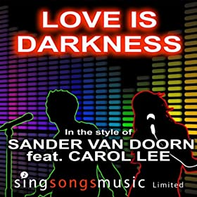 Love Is Darkness (In The Style Of Sander Van Doorn Feat. Carol Lee)