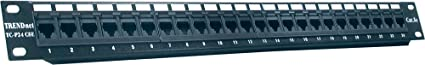 TRENDnet - Panneau de Connexion sans Blindage à 24 Ports Cat5/5E, TC-P24C5E