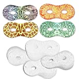 EMBOSSED PAPER MASKS PACK OF 24