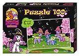 Noris 606031217 - Filly Witchy Black - Mimic, Cloude und Celistia Puzzle, 100 Teile