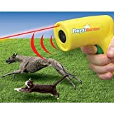 Royal Garden Premium Animal Chaser Ultrasonic Cordless Scram Pet Trainer Pest Patrol Repeller