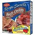 Lipton Recipe Secrets Recipe Soup & Dip Mix, Beefy Onion 2.2 oz (Pack of 12)