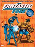 Fantastic 4 Color & Activity Book with Tattoos