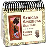 img - for African American Heritage Perpetual Calendar book / textbook / text book
