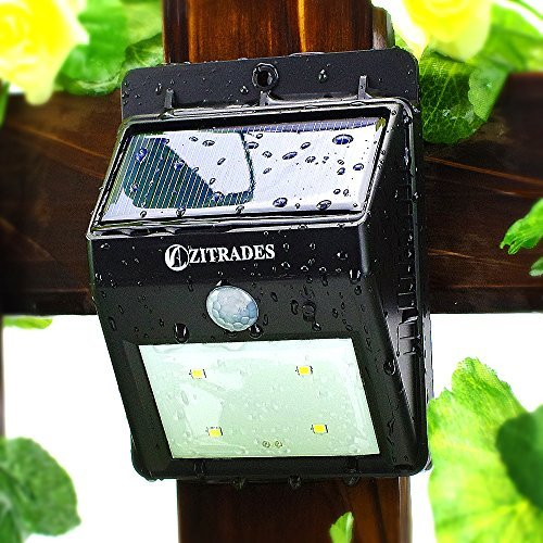 Zitrades LED Solar Motion Sensor Light Model: 817 (Hardware & Tools Store)