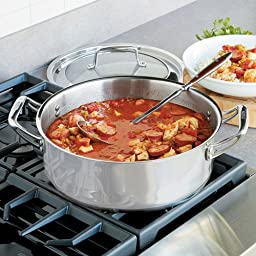 CHEFS Never Burn Stovetop Braiser - 5 Quart