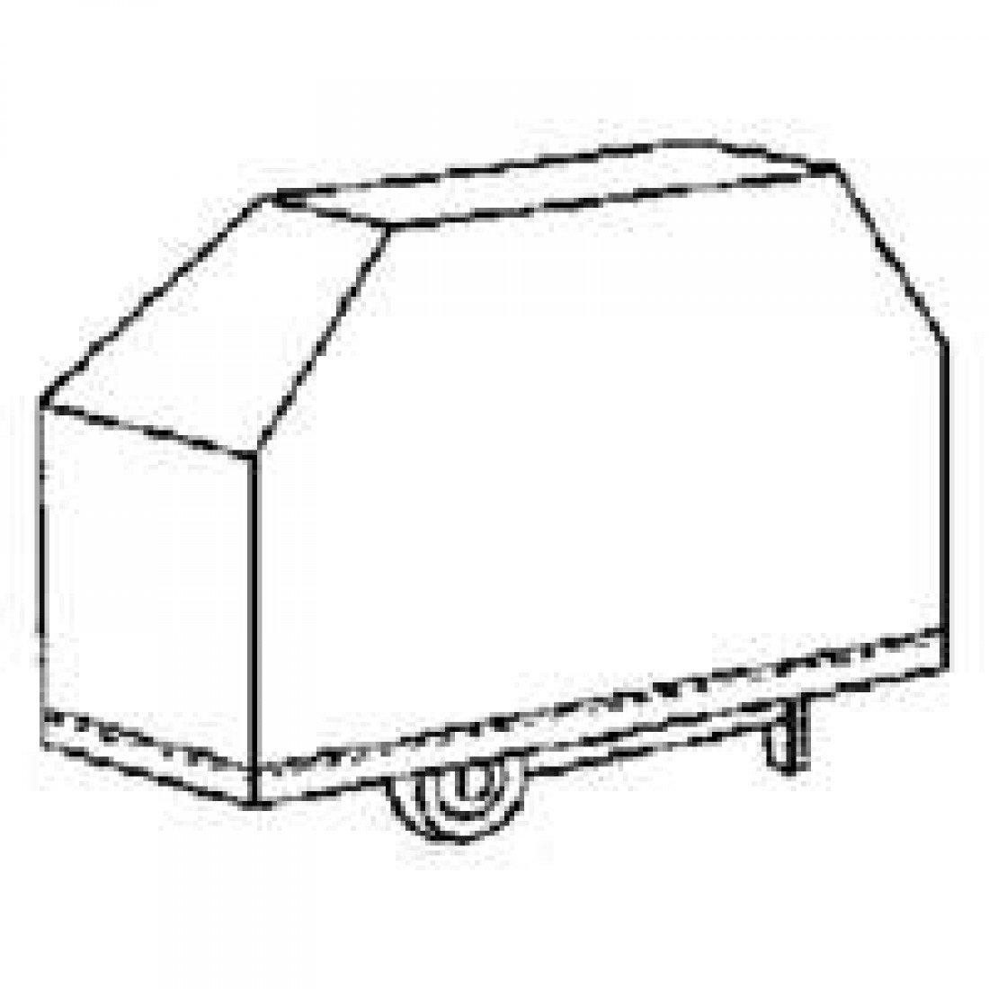 Toolbasix 68 x 22 x 37 schwarz Pvc-Abdeckhaube jetzt bestellen