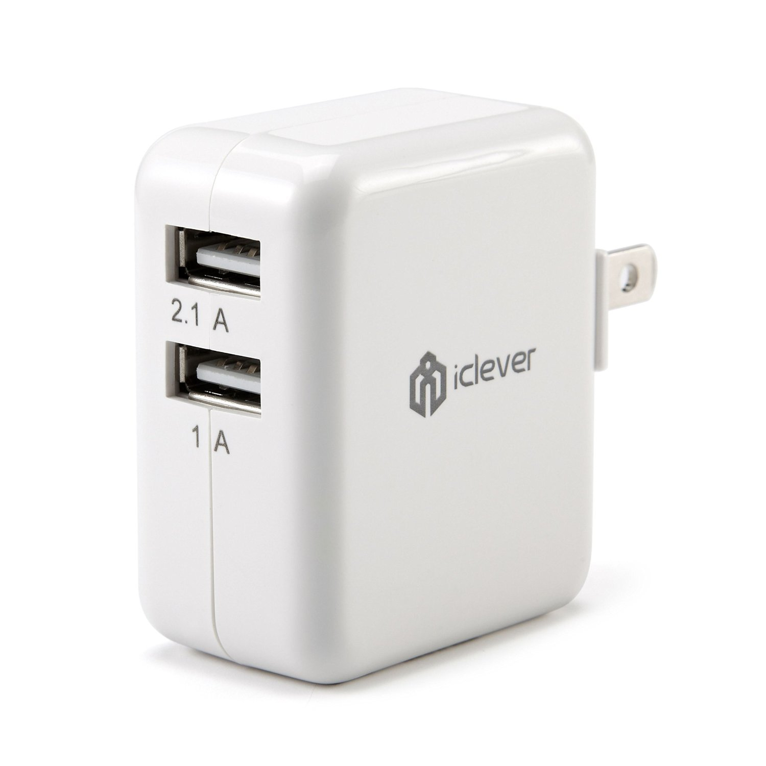 iClever UL Certified Dual USB Ports Wall Charger