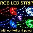 Ramozz @ 5m 5 Meter RGB 5050 LED SMD Strip Streifen Controller