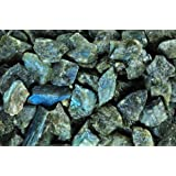 Fantasia Materials: 2 lb Labradorite Mine Run Rough - (Select 1 to 18 lbs) - Raw Natural Crystals for Cabbing, Cutting, Lapidary, Tumbling, Polishing, Wire Wrapping, Wicca and Reiki Crystal Healing