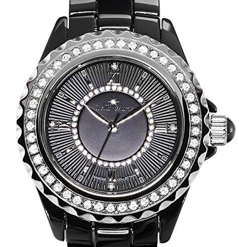 stella maris damen armbanduhr analog quarz premium keramik diamanten stm15e1 uhren. Black Bedroom Furniture Sets. Home Design Ideas