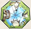 Mein Nachbar Totoro Nette Karikatur Sonnenschirme Regenschirm Drei Falten Regenschirm UV Super-Sonnenschirme Sonnen UV 50 superleichte Dachsonnencreme Vinyl [Can i do best] von Can i do best - Gartenmöbel von Du und Dein Garten