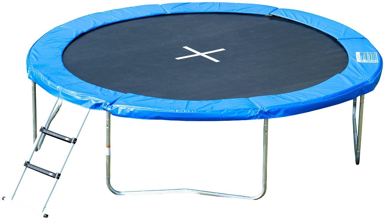 PEARL sports Garten-Trampolin TRN-305 mit Sicherheitsnetz, 305 cm günstig kaufen