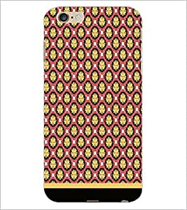 PrintDhaba Pattern D-1659 Back Case Cover for APPLE IPHONE 6 (Multi-Coloured)