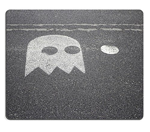 Luxlady Natural Rubber Mousepads IMAGE ID 30748675 Pacman on urban land outdoor fun