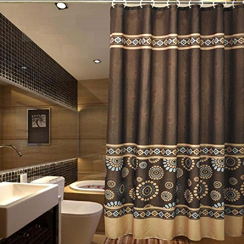 Ufaitheart 108 X 72 Extra Wide Shower Curtain Fabric Water And Mould Resistant Bath Shower Curtains