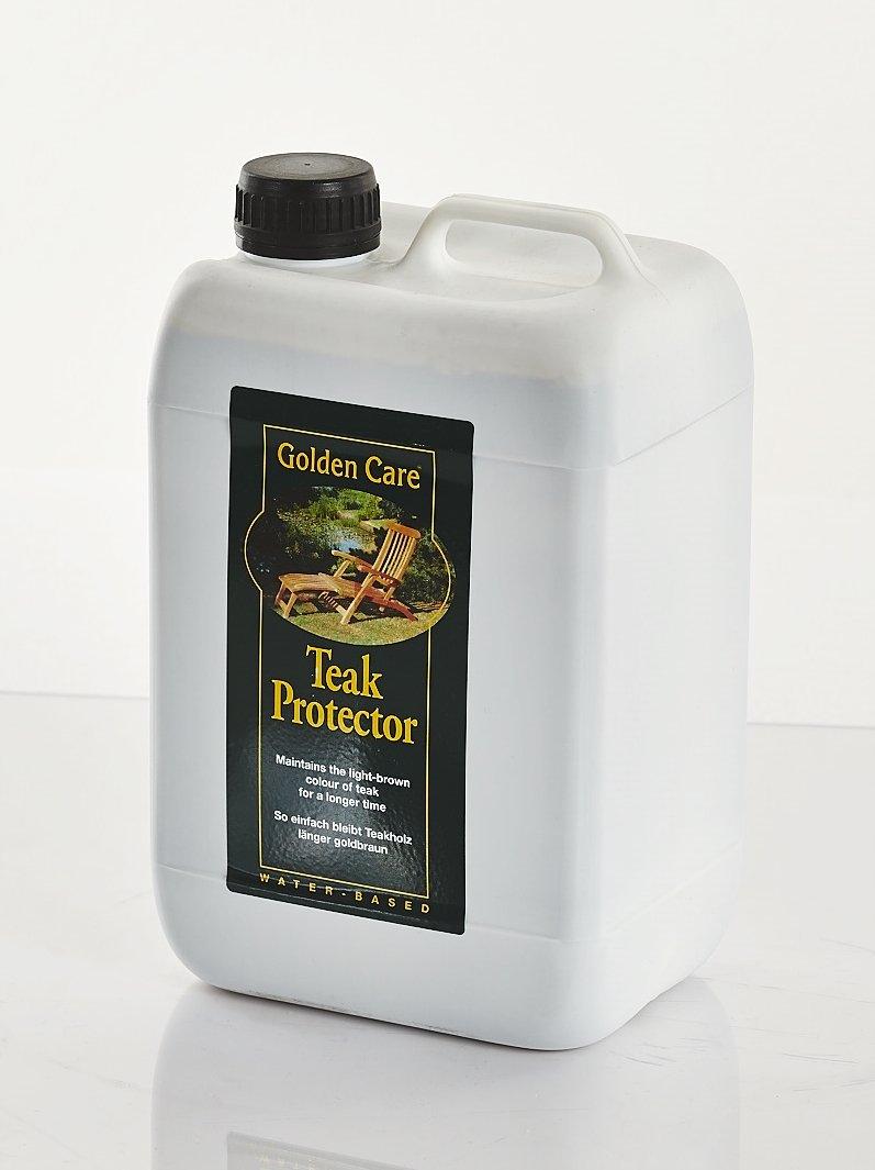 GOLDEN CARE Teak-Protector 3 Liter Holzschutz Holzpflege für Gartenmöbel Schiffsdeck aus Teak