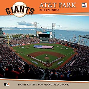 Turner - Perfect Timing 2014 San Francisco Giants AT&T Park Wall Calendar, 12 x 12 Inches (8011502)