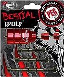 Pegs estriberas aluminio Bestial Wolf