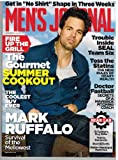 MEN'S JOURNAL Magazine (June 2013) Mark Ruffalo: Survival of the Mellowist