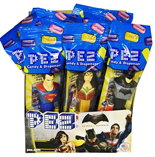 DC Comics PEZ Candy Dispensers: Pack of 12 (Dc Pez Dispensers compare prices)