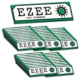 50 x BOOKS 2500 SHEETS MEDIUM GREEN STANDARD EZEE RIZLA ROLLING CIGARETTE PAPER