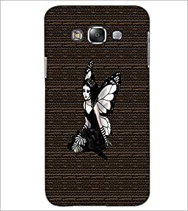 PrintDhaba Angel D-3265 Back Case Cover for SAMSUNG GALAXY A7 (Multi-Coloured)