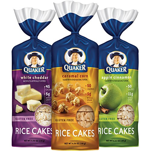 Quaker Gluten Free Rice Cakes Variety Pack, 6 Count (Rice Cakes Variety Pack compare prices)