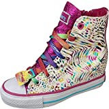Skechers Girls Gimme - Moonbeams White/Multi Fashion Sneakers Thumbnail Image