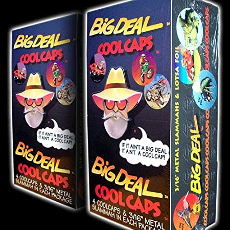 POGS 1994 Sealed Box BIG DEAL COOL CAPS - 144 Milkcaps + 36 Slammers - POG SHOP