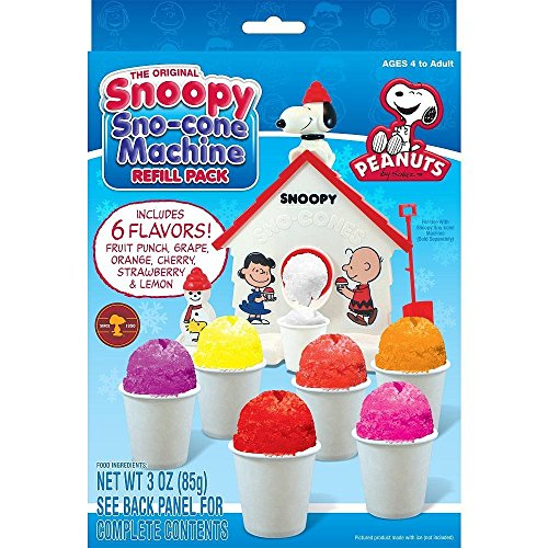 cookn snoopy snow cone maker
