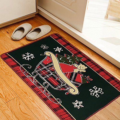 Top 5 Best Christmas Kitchen Rugs For Sale 2016 : Product