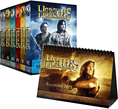 Hercules Package: The Legendary Journeys Staffel 1-6 (inkl. Kalender 2015) [Limited Edition] [34 DVDs]