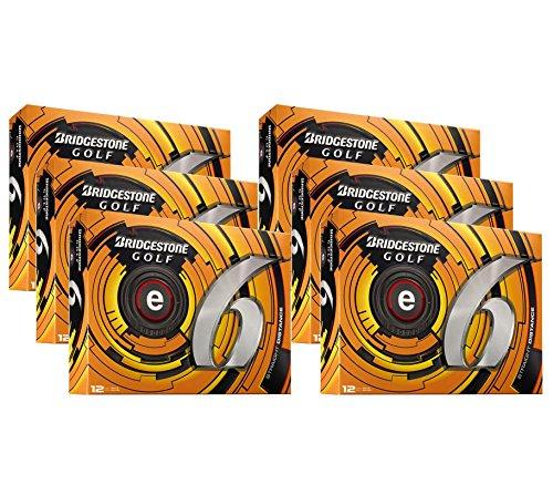 Bridgestone e6 Tour White Straight Distance Golf Balls | 6 Dozen
