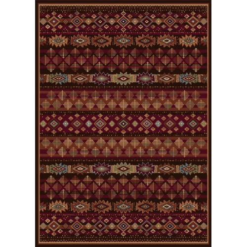 Home Dynamix Traditional Area Rug, Home Dynamix Madlena 5'x8' Brown. at Sears.com