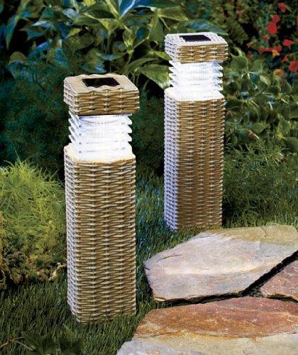 Solar Garden Pillars