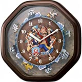 ONE PIECE(ワンピース) ワンピース からくり掛時計 壁掛け時計 (4MH880M06)
