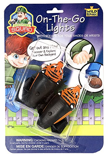 Wild Republic Discovery Squad On-The-Go Lights Tiger Toy