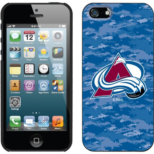 Great Price Colorado Avalanche« Digi Camo Color design on a Black iPhone 5s / 5 Thinshield Snap-On Case by Coveroo