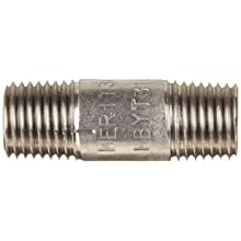 Stainless Steel 304/304L Pipe Fitting, Nipple, Schedule 40 Seamless, NPT Male