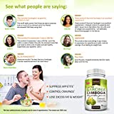 Pure Garcinia Cambogia Extract - HCA Capsules - Best Weight Loss Supplement - Healthy Digestive System - Natural Appetite Suppressant - 100% Money Back Guarantee - Order Risk Free!