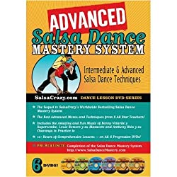 SalsaCrazy's Advanced Salsa Dance Mastery System (6 DVD Set)