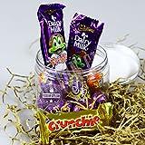 Cadbury Easter Fun Jar - Freddo, Crème Eggs, Caramel Eggs, Crunchie - By Moreton Gifts