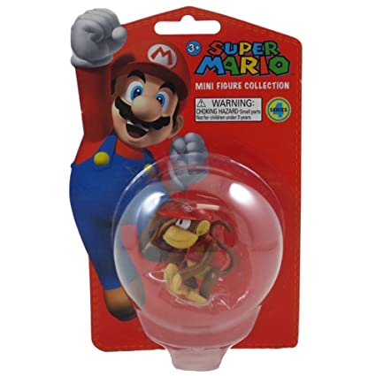 Nintendo Super Mario Bros. 2-inch Mini-figure Series 4~diddy Kong