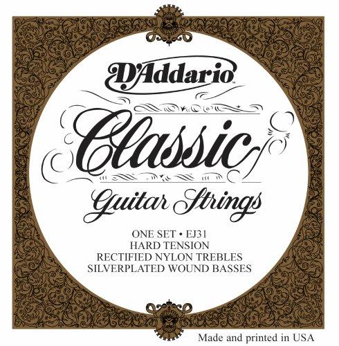 D'Addario EJ31 Classics Rectified Classical Guitar